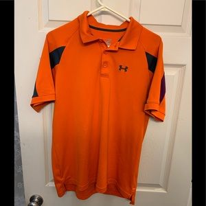 Underarmour heat gear golf shirt large